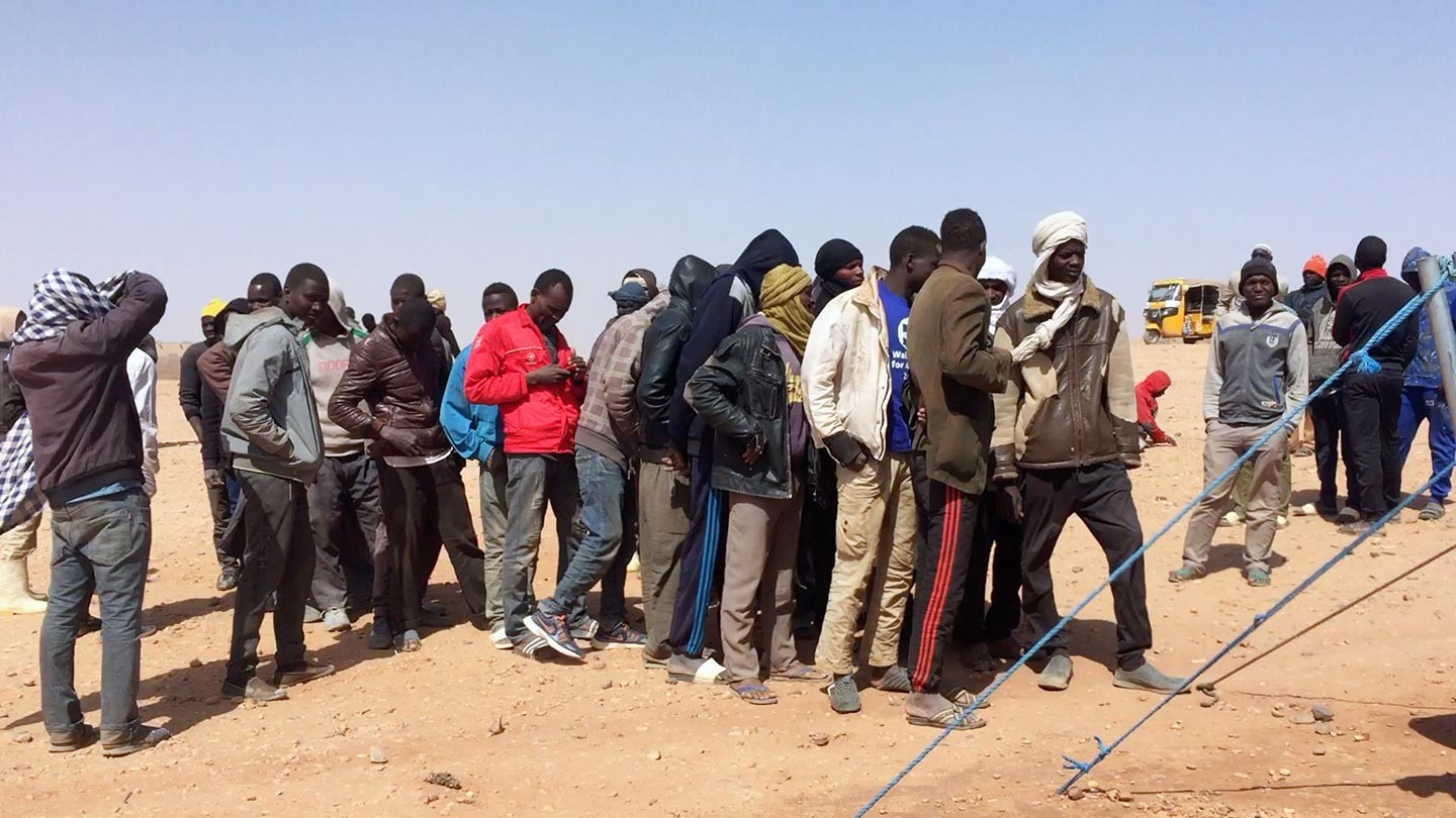 L'Europe délocalise le tri des migrants