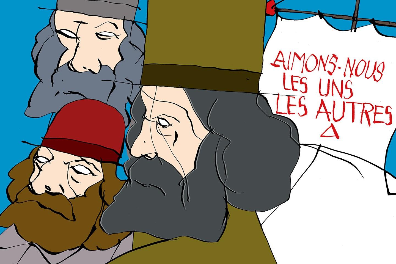 Du pain sur la planche et des Frères pour la paix