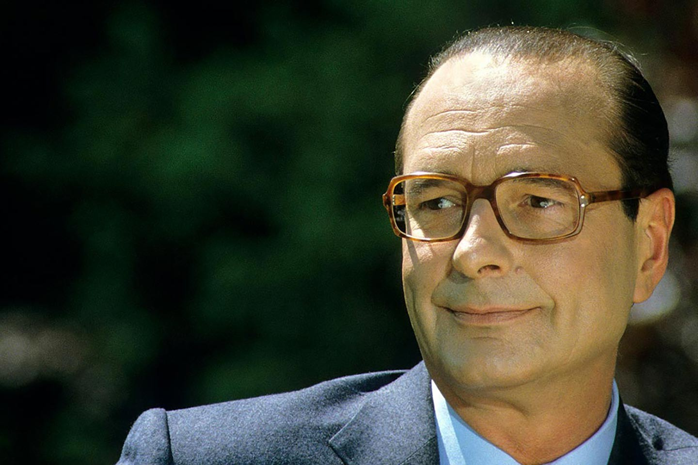 Chirac chante l'international