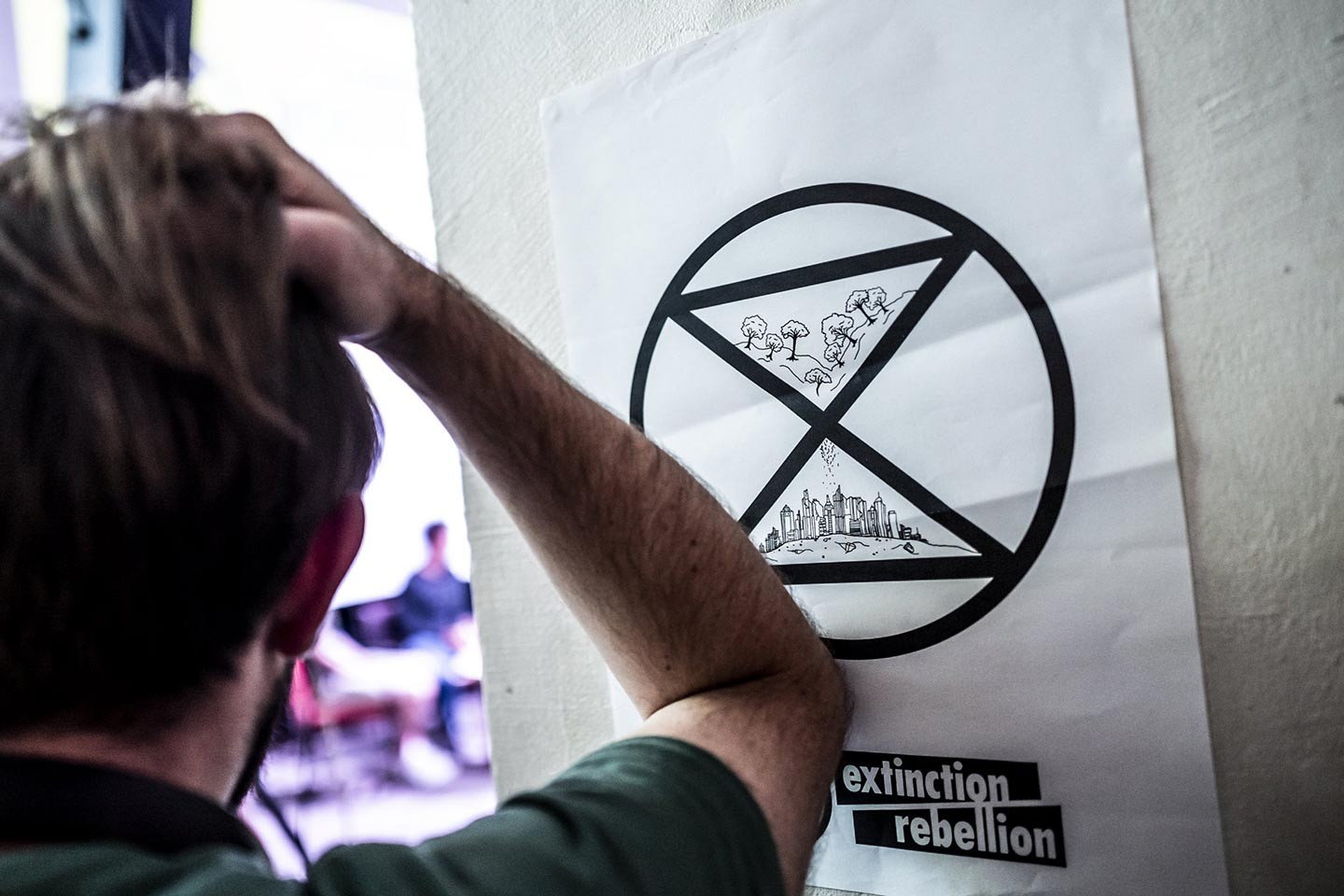 Extinction Rebellion et ses militants de « Base »