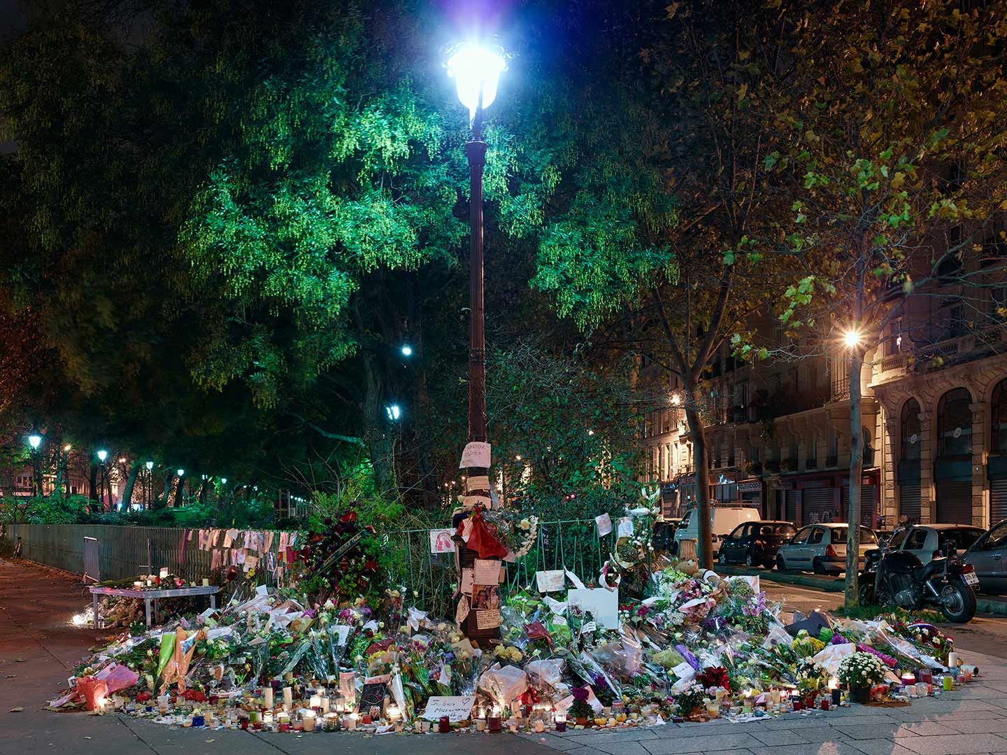 Capter la mémoire des attentats