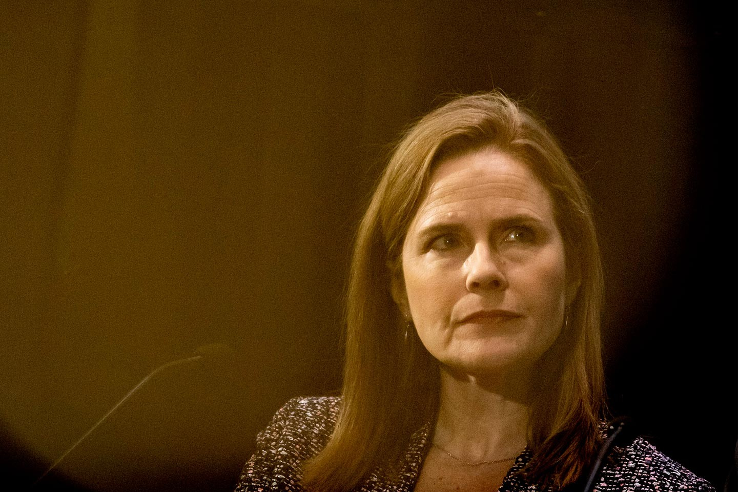Amy Coney Barrett, garantie avec conservateurs
