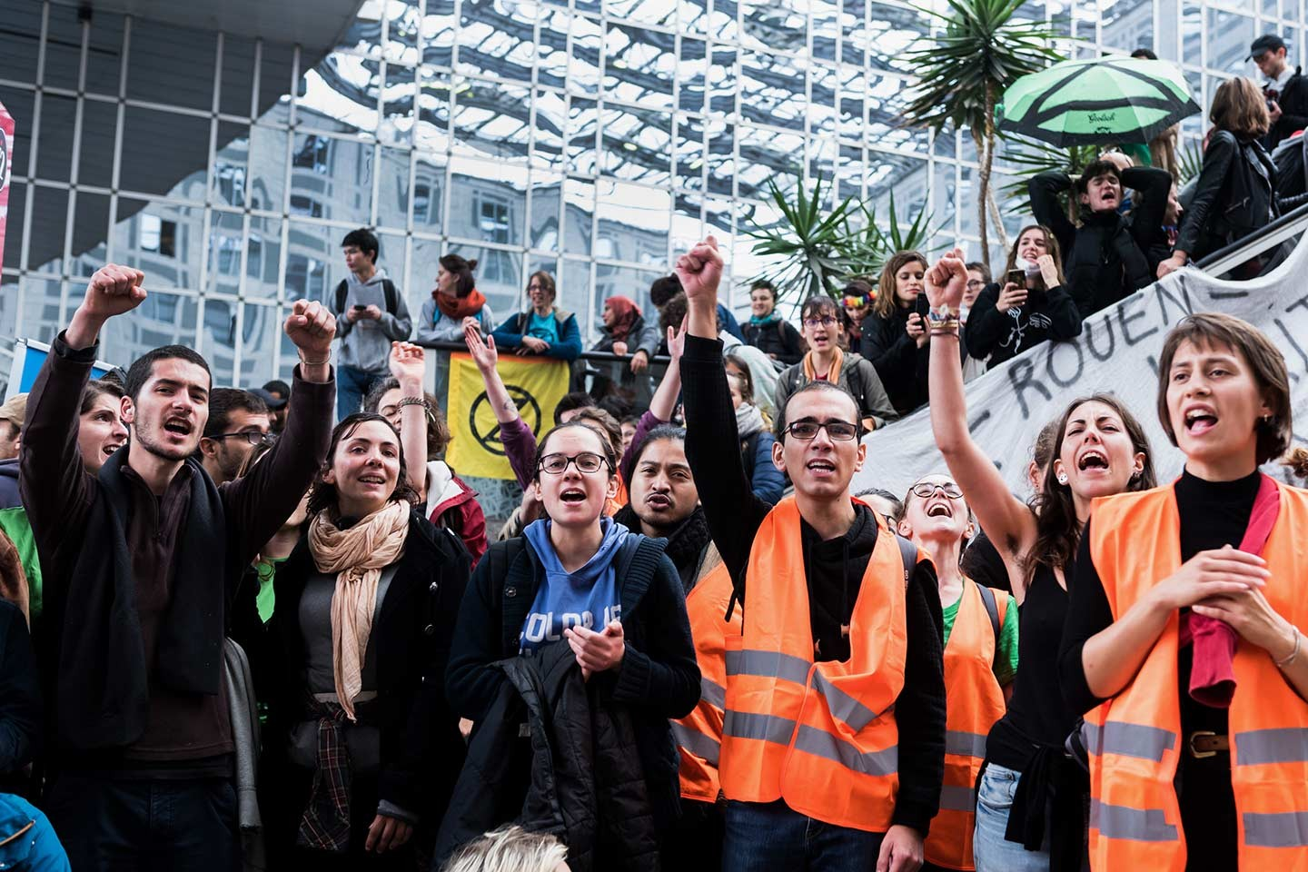 Extinction Rebellion à la poursuite d'octobre vert