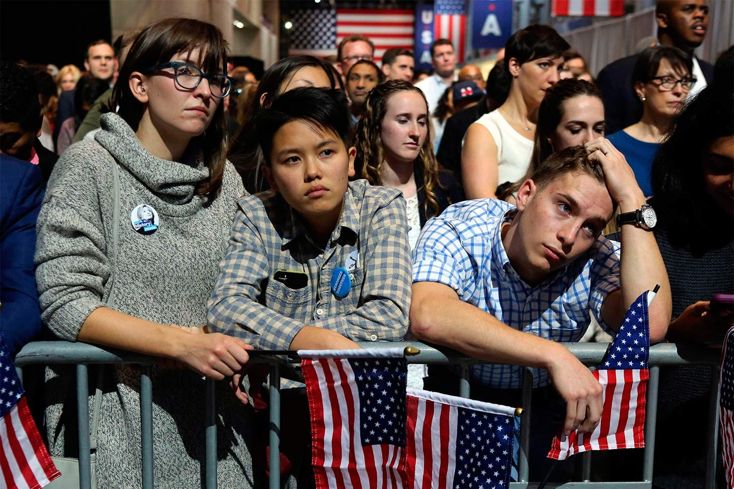 Supporters d'Hillary Clinton