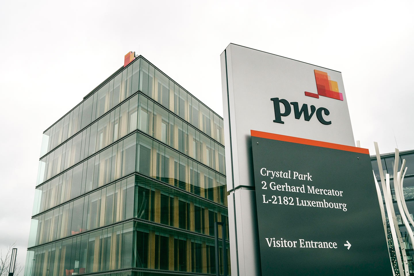 Le siège de PricewaterhouseCoopers Luxembourg (…)